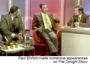 Paul Ehrlich on The Tonight Show